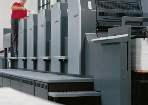 Offsetdruck, Digitaldruck, Buchbinderei