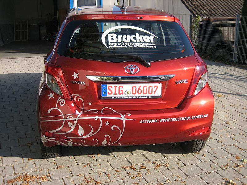 Autohaus-Werbung