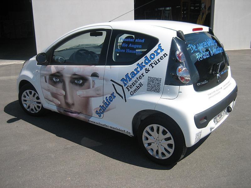 KFZ-Werbung